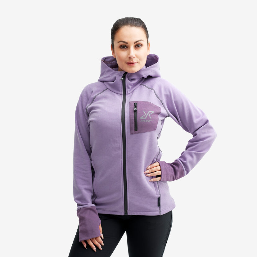 Illusion Hood Lavender Women
