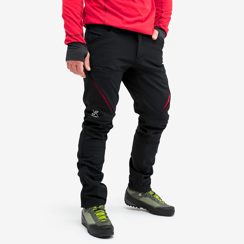 Hiball Pants Black/Red Men