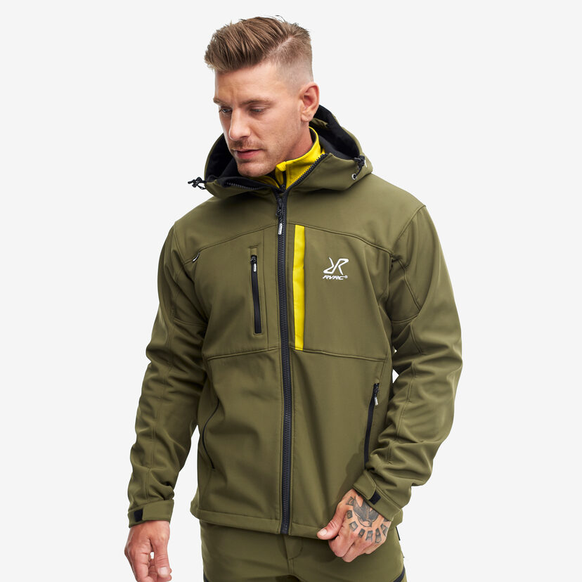 Hiball Jacket Dark Olive Men