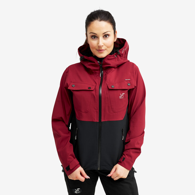 Hyper Jacket Dark Red Women