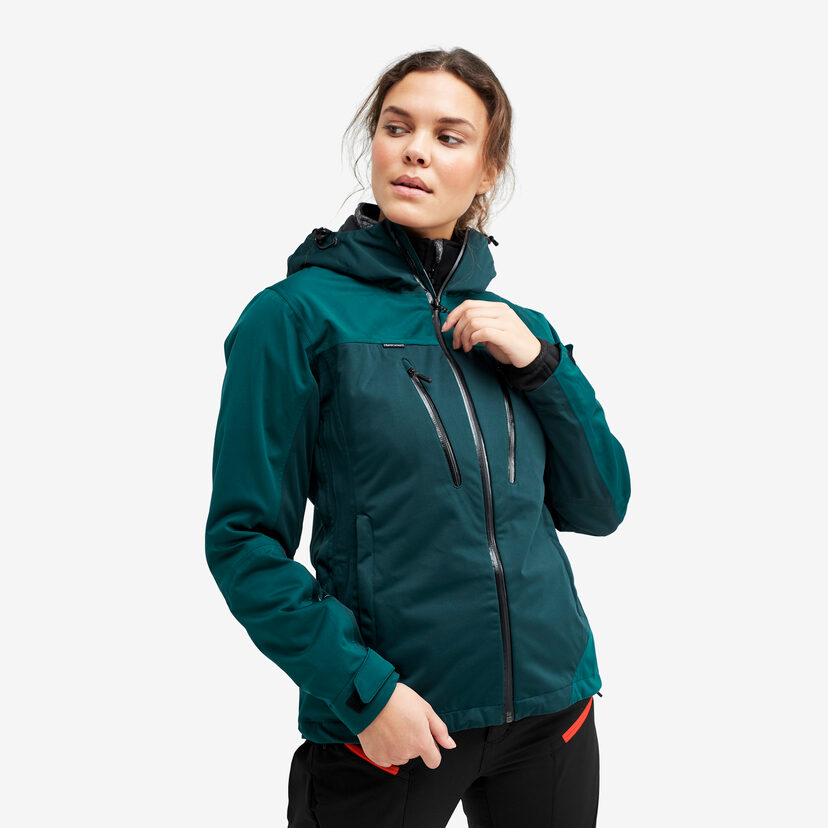 Silence Proshell Jacket Deep Teal Women