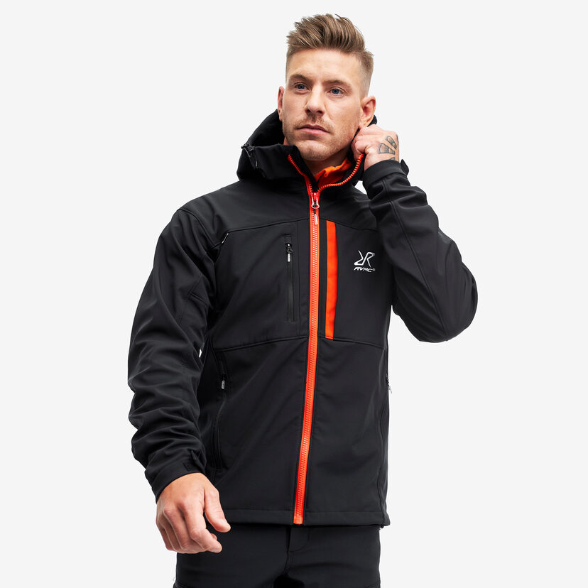 Hiball Jacket Black/Orange Herr
