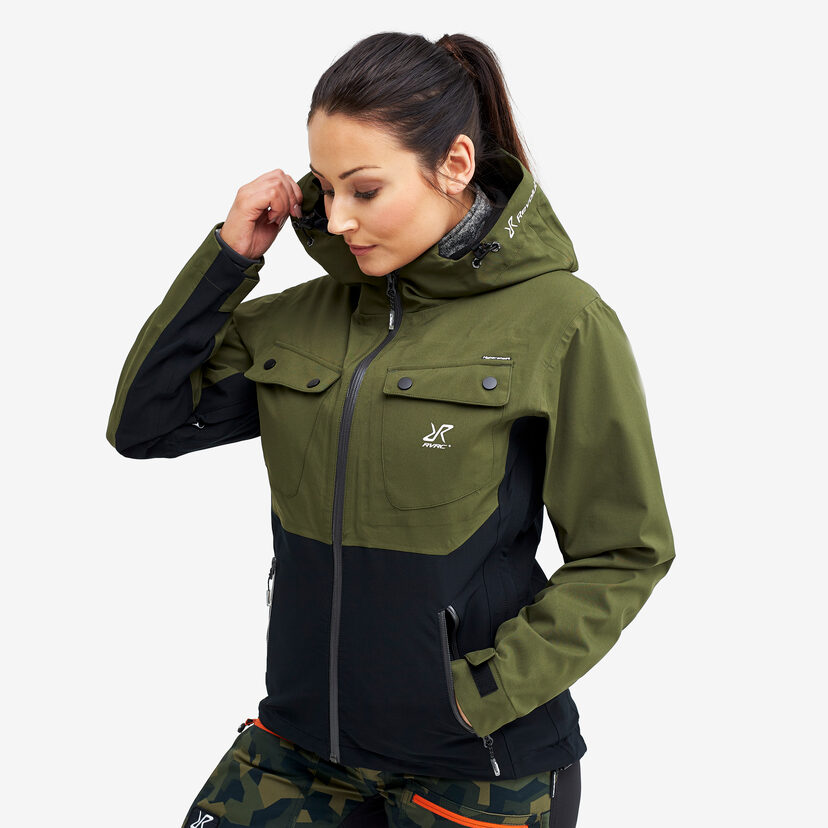 Hyper Jacket Olive Night Women