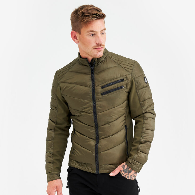 Rocket Jacket Dark Olive Men