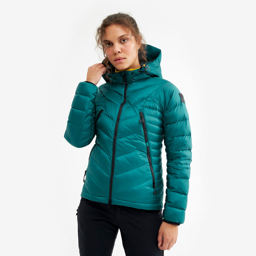 Gravity Jacket Turqouise Women
