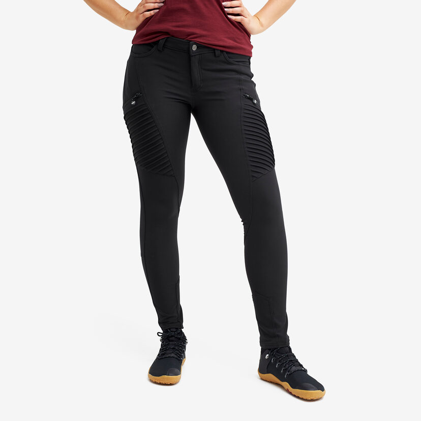 Pusher Outdoor Jeans Black Women
