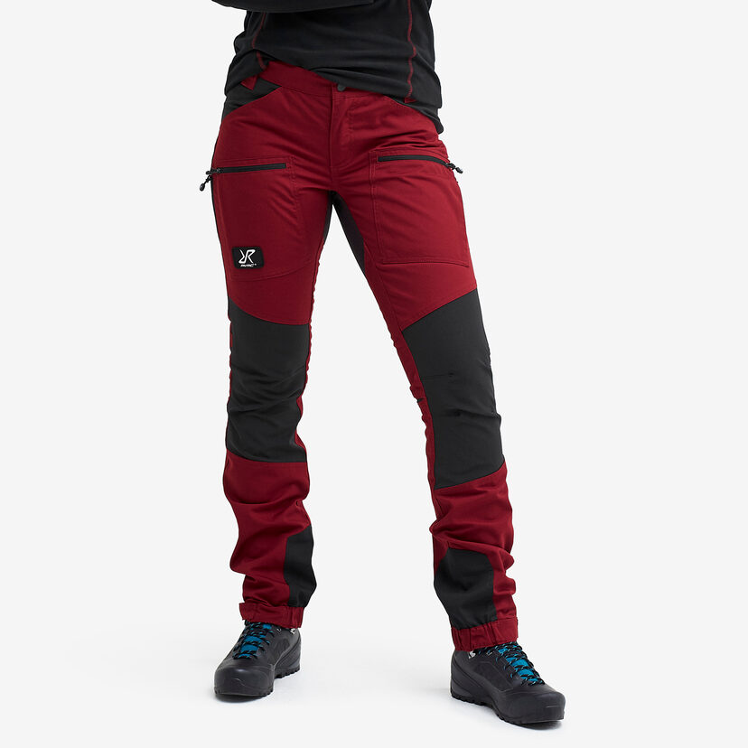 Nordwand Pro Trousers Wine Red Women