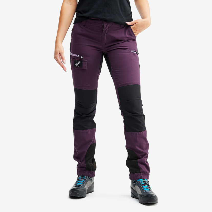 Nordwand Trousers Blackberry Wine Women
