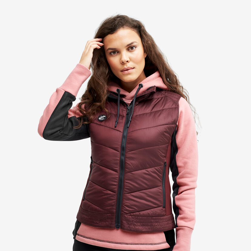 Rocket Vest Burgundy Women