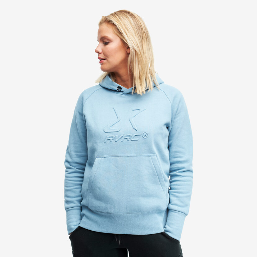 Slacker Hoodie Faded Denim Women