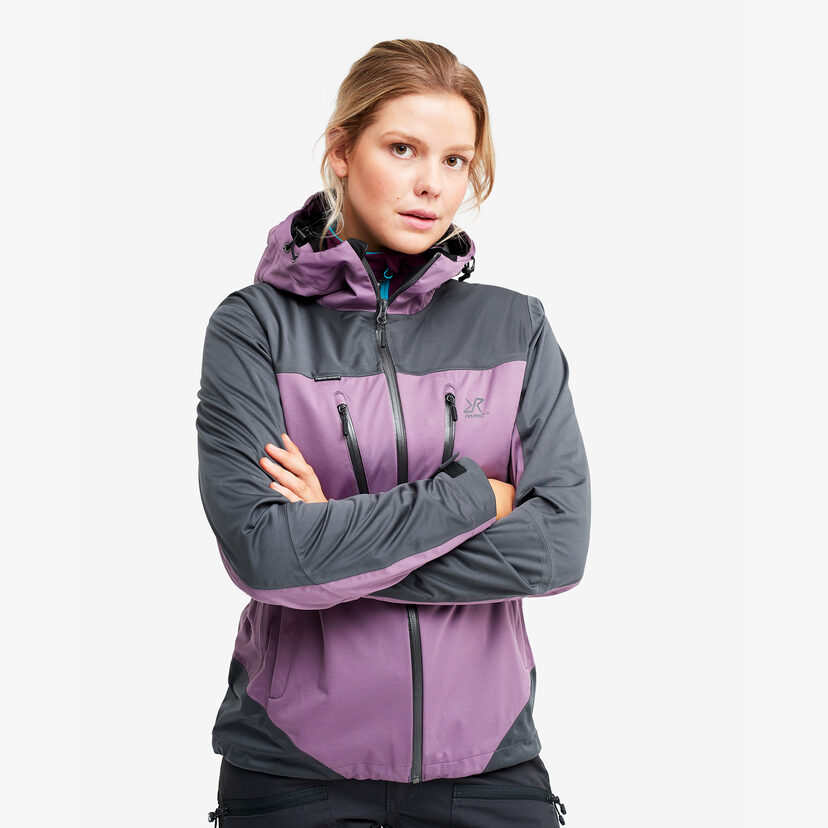 Silence Proshell Jacket Grape Dam