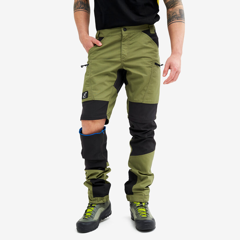 Nordwand Pro Zip-off Trousers Pine Green Men