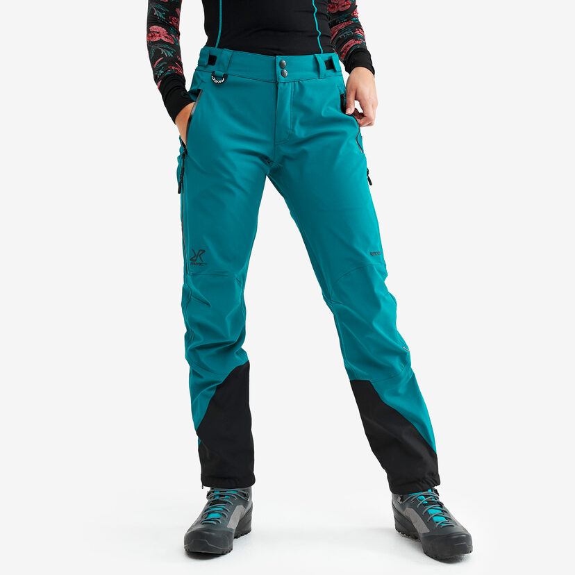 Cyclone Rescue Pants Dark Turquoise Women