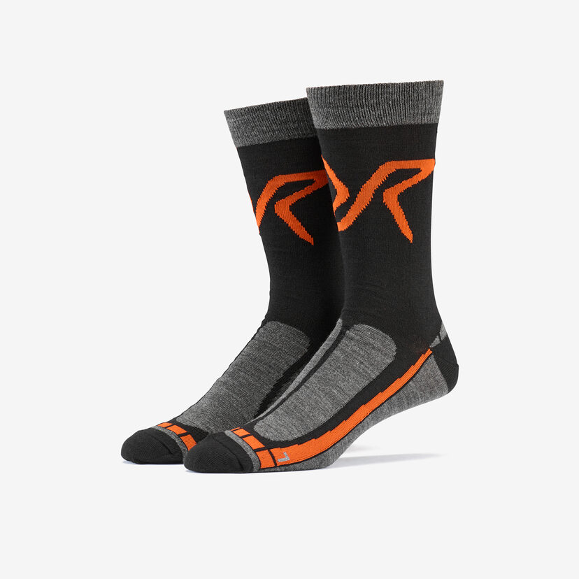 Hiking Sock Black/Orange Men