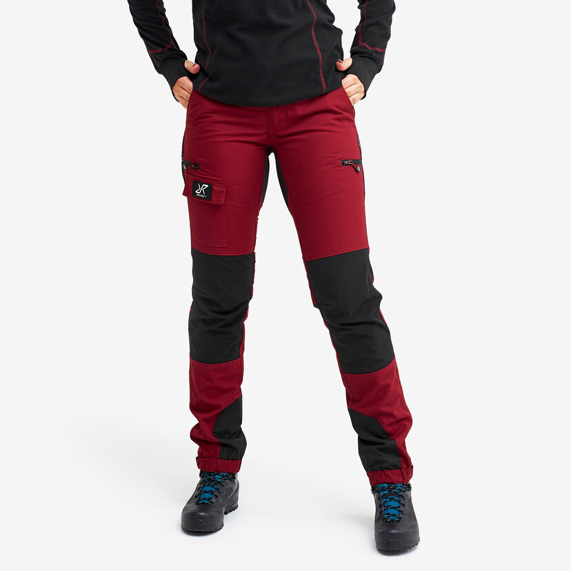 Nordwand Pants Wine Red Women