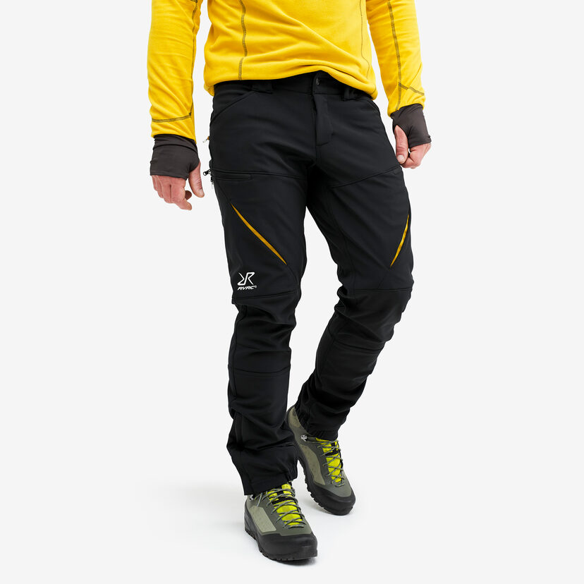 Hiball Trousers Black/Yellow Men