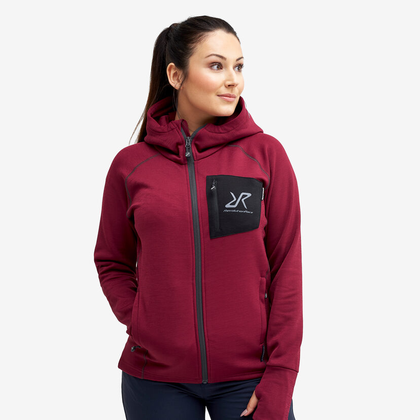 Illusion Hood Ruby Women