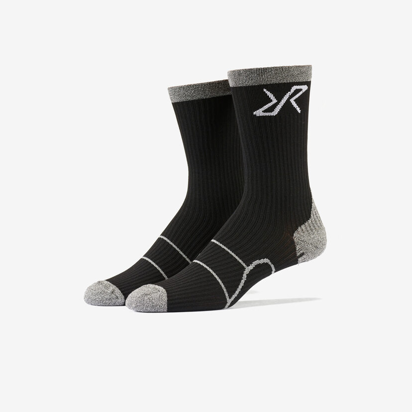 Walking Sock Black Men
