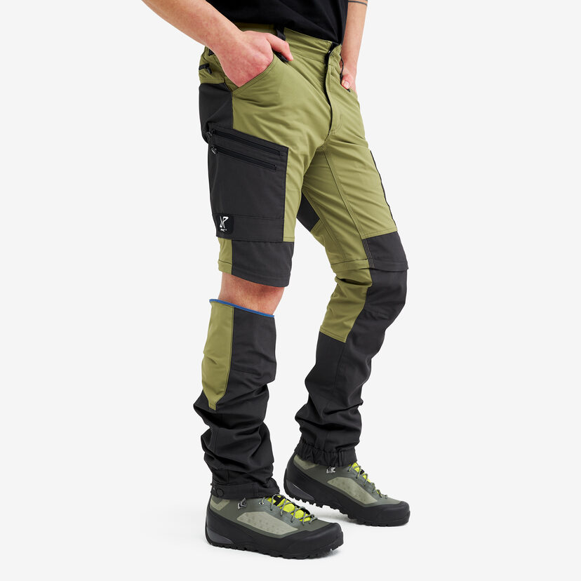 Gpx Pro Zip-off Pants Pine Green Men