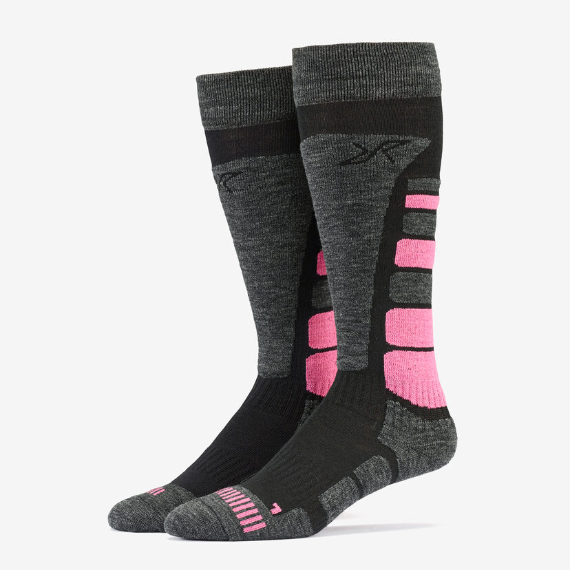 Ski Sock Dusty Pink Women