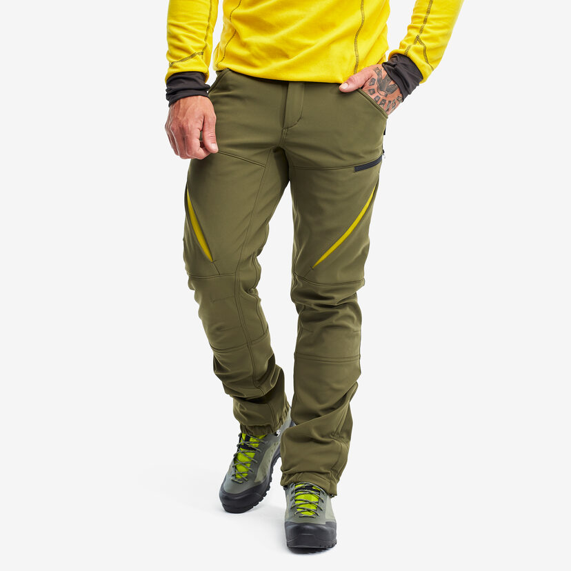 Hiball Trousers Dark Olive Men