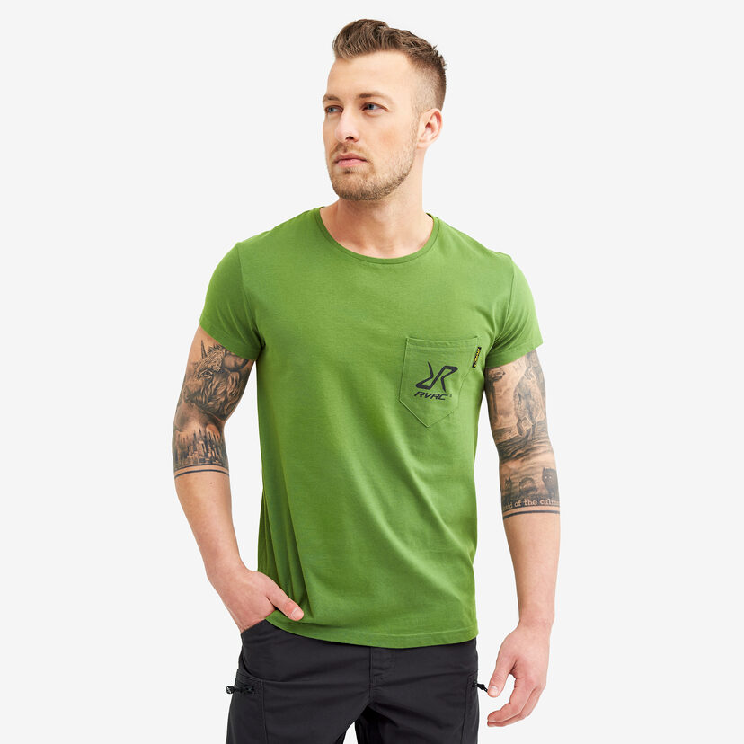 Fat Logo Tee Cactus Green Men