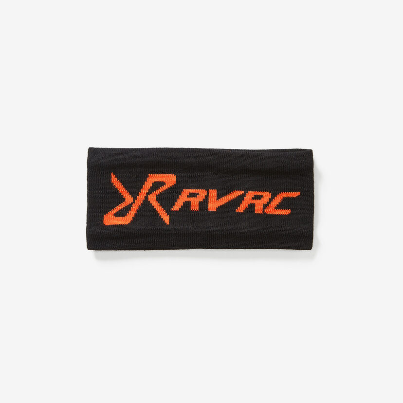 Wool Headband Black/Orange