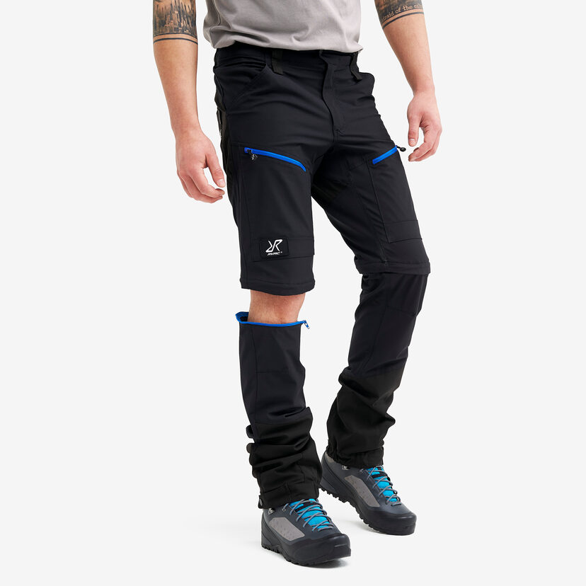Silence Pro Zip-off Pants Jetblack Men