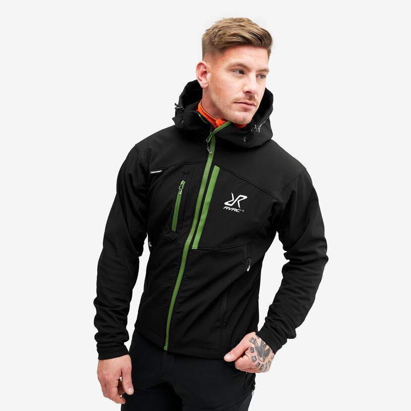 Hiball Jacket Black/Cactus Men