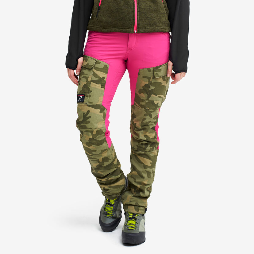 Gpx Pants Candy Pink/Camo Women