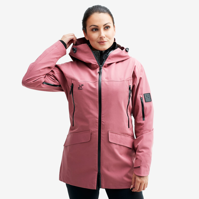 Monsoon Jacket Rose Women