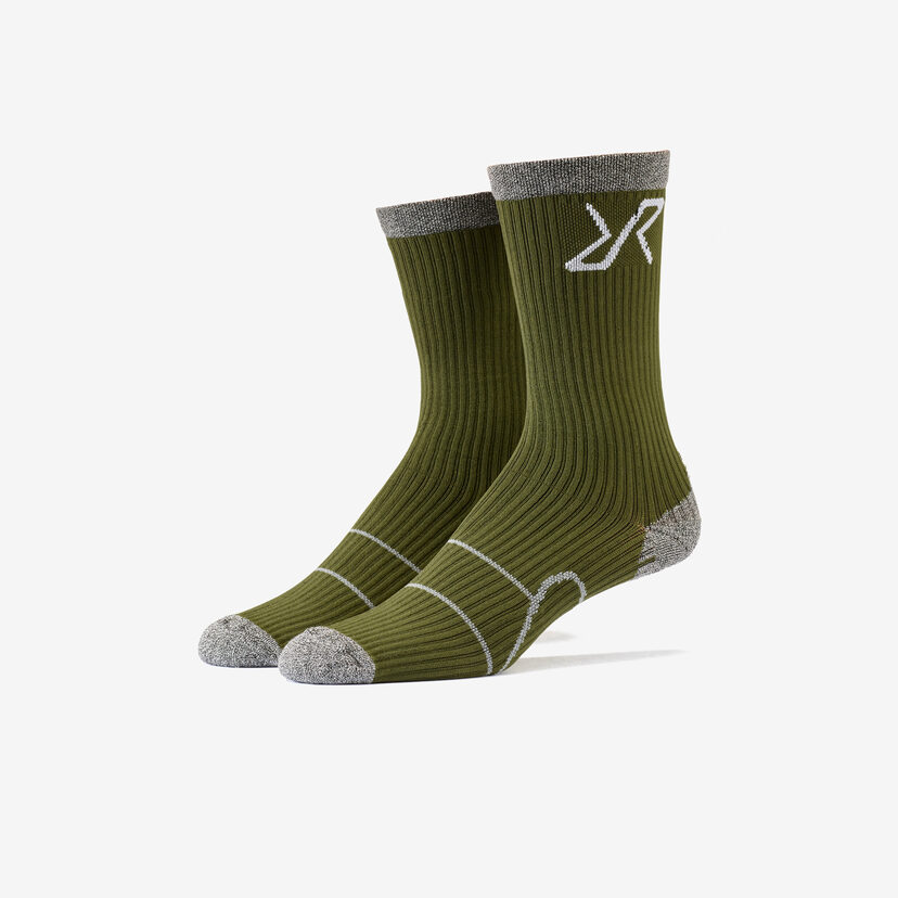 Walking Sock Olive Night Men