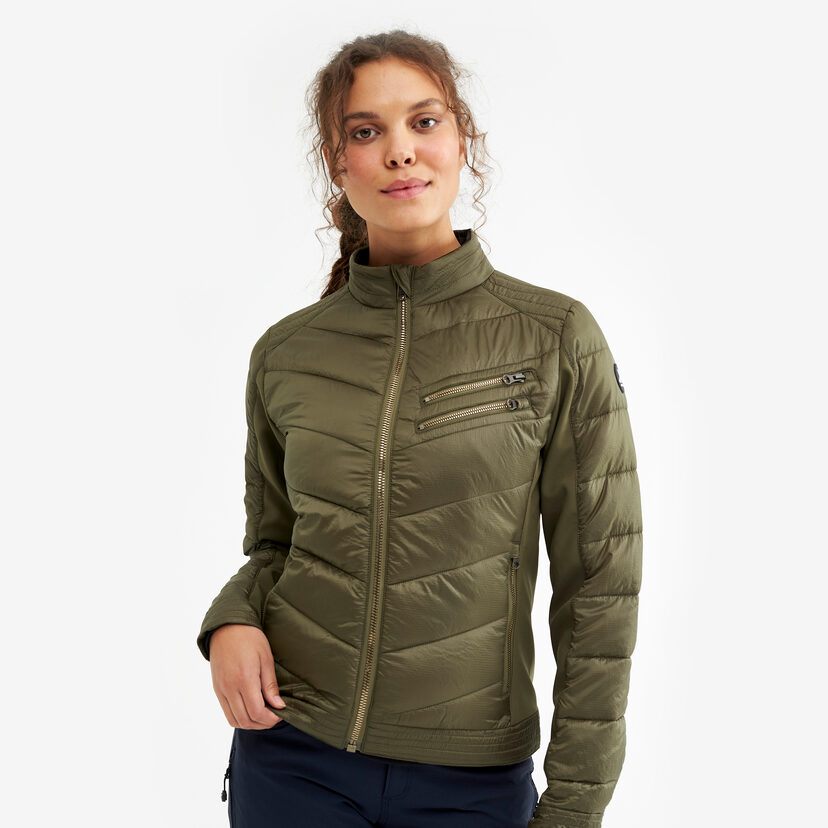 Rocket Jacket Dark Olive Women