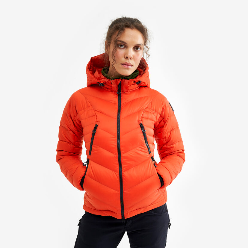 Gravity Jacket Orange Women