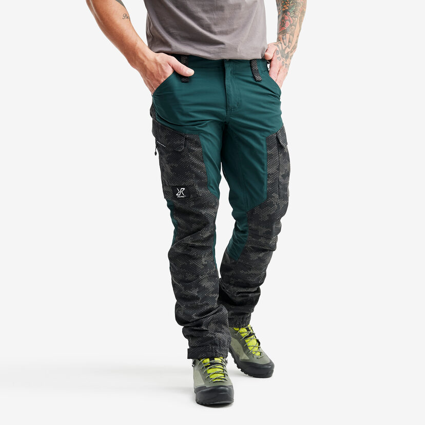 Gpx Trousers Teal Camo Men