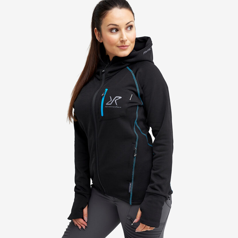 Illusion Hood Black/Blue Women