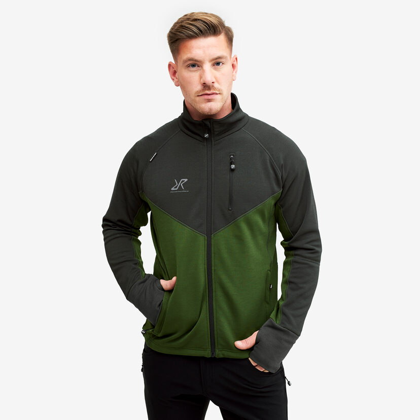 Illusion Fleece Turtle Green Men