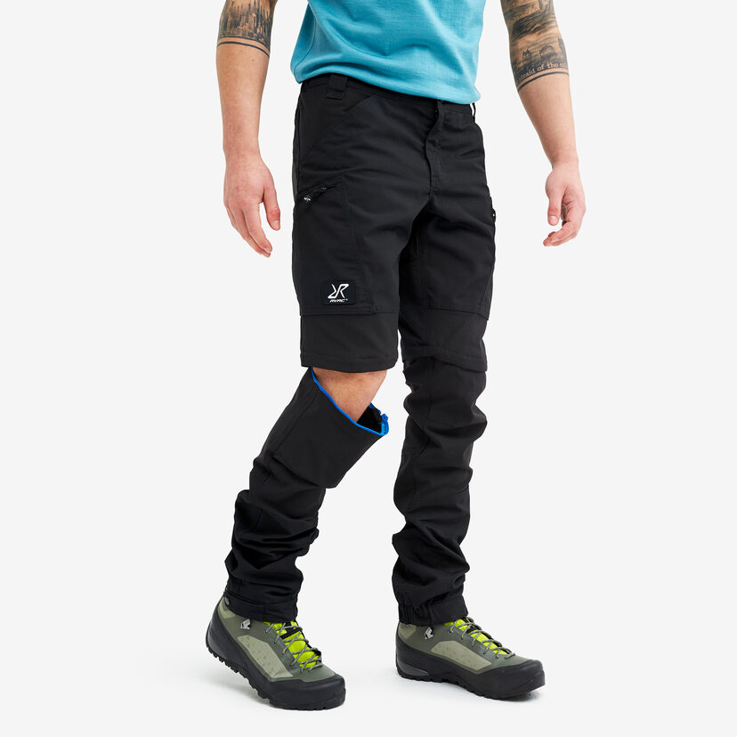 Nordwand Pro Zip-off Pants Jetblack Men