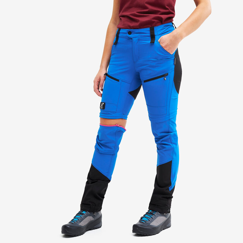Silence Pro Zip-off Pants Electric Blue Women