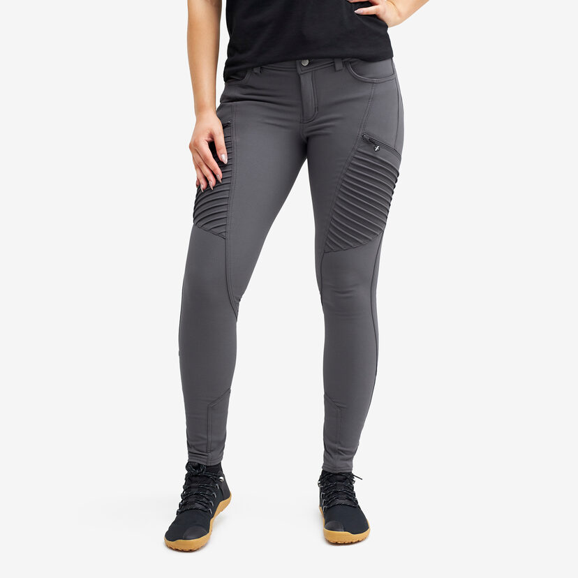 Pusher Outdoor Jeans Shark Grey Women