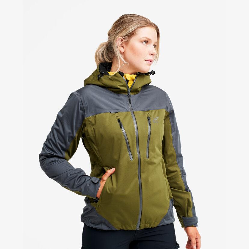 Silence Proshell Jacket Dark Olive Women